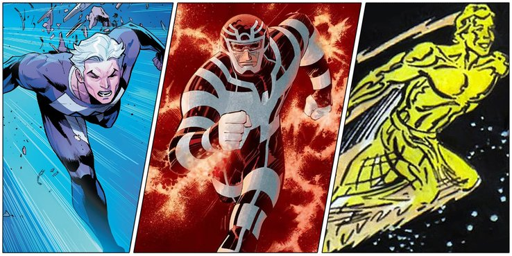 Fastest Marvel Characters